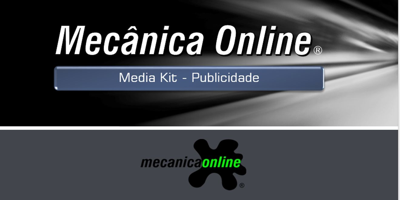 Media Kit - Mecânica Online®