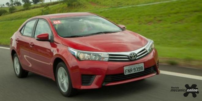 Corolla é o carro usado mais procurado do Brasil em fevereiro