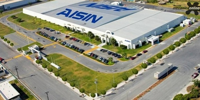 Nova fábrica de motores da Aisin entrega primeiro lote de componentes