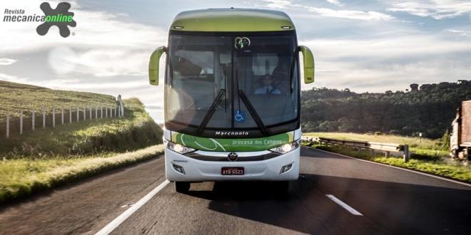 Volvo oferta ônibus de motor dianteiro com 14 metros de comprimento
