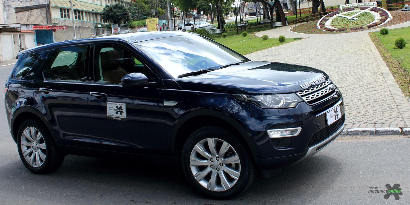 Discovery Sport equipado com motor 2.2 SD4 Turbodiesel esbanja disposição em qualquer terreno