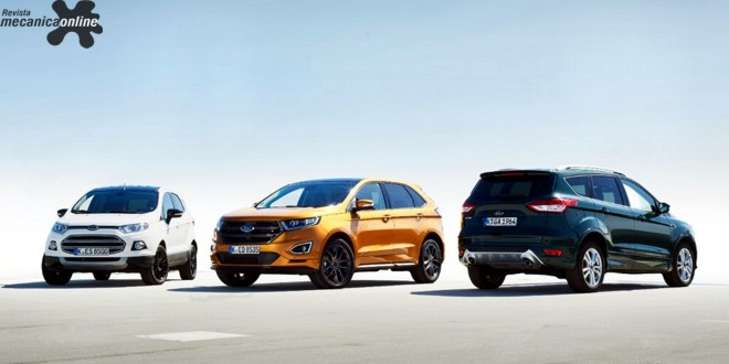 """Pesquisa da Ford Europa mostra os novos compradores de SUVS: mães, jovens e """"Quintastics"""", os novos cinquentões"""