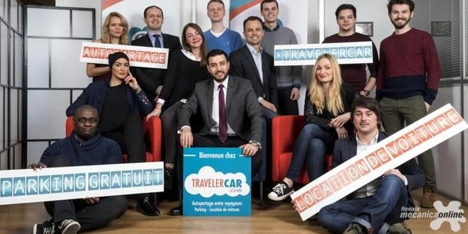 O Grupo PSA adquire participação na TravelerCar, uma start-up que oferece novas soluções de estacionamento e locação de veículos