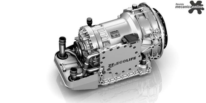 100.000ª transmissão automática ZF-EcoLife é produzida em Friedrichshafen, Alemanha