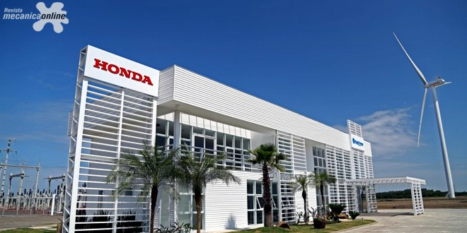 Honda celebra 20 anos de produção de automóveis no Brasil