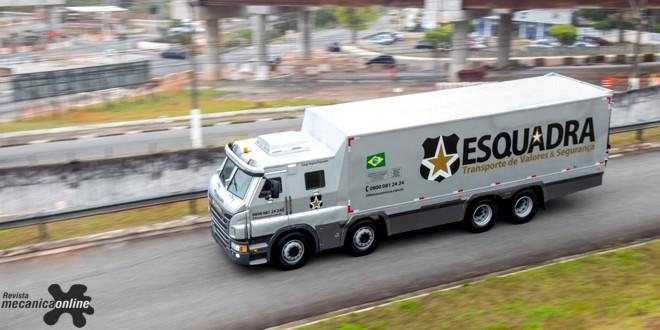 Vídeo | Scania vende caminhões blindados para a Esquadra