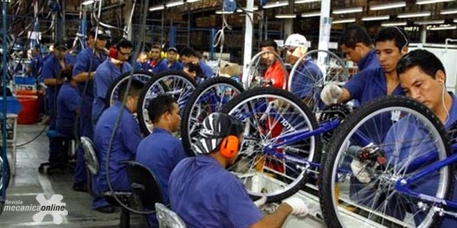 Produção de Bicicletas de agosto cresce 20,1% em relação a julho