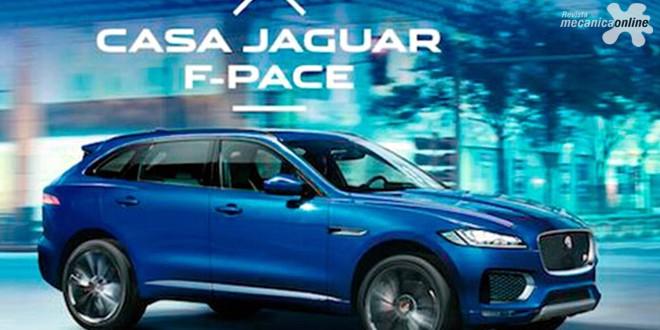 Casa Jaguar F-Pace abre em 20 de outubro