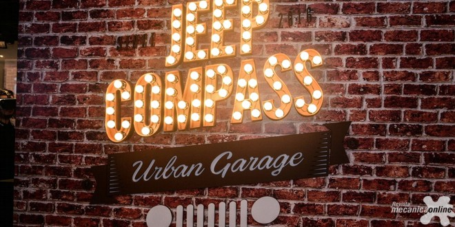 Jeep® inaugura pop-up store Jeep Compass Urban Garage