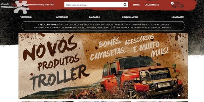 b634ecb587 Troller lança nova grife da marca e estreia loja na internet ...