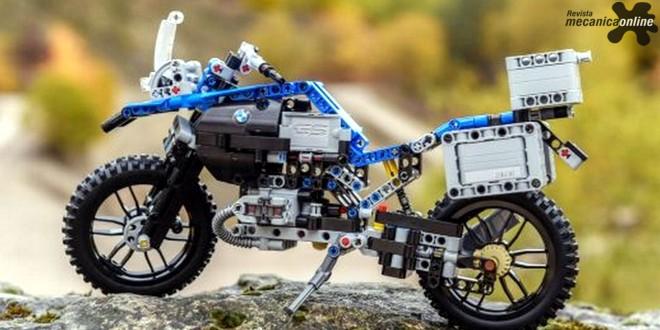 BMW Motorrad inicia parceria inédita com LEGO