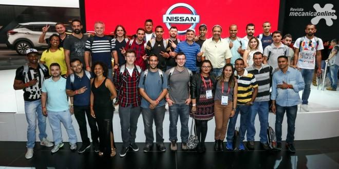 Com ações especiais, Nissan leva funcionários para visitar o Salão Internacional do Automóvel de São Paulo 2016