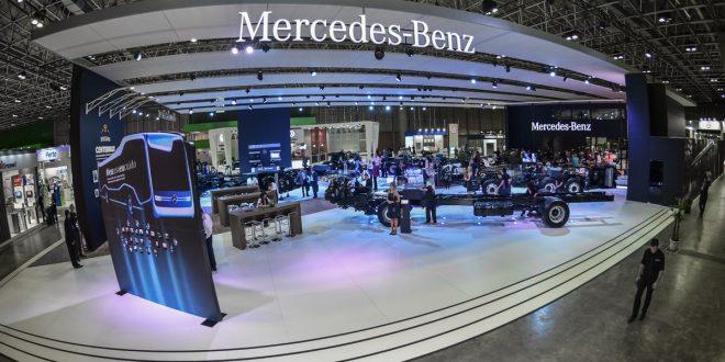 Fotos | Mercedes-Benz do Brasil repleta de novidades na FetransRio