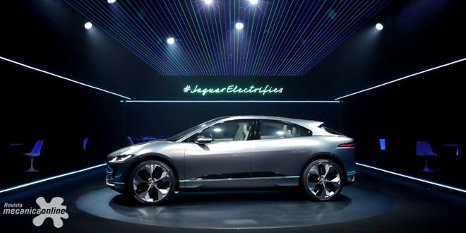 Jaguar apresenta conceito elétrico I-PACE