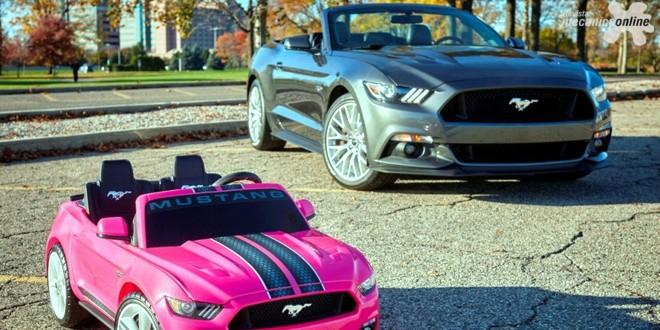 Ford licencia Fisher-Price, tradicional fabricante de réplicas, para produzir o Mustang em escala infantil para este natal