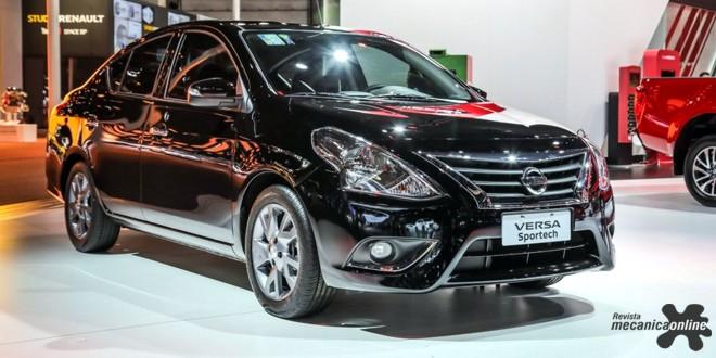 No Salão do Automóvel de São Paulo, showcar Sportech é estudo de tendências para o Nissan Versa