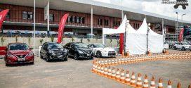 Nissan convida visitantes a experimentar sua linha de produtos no Salão do Automóvel