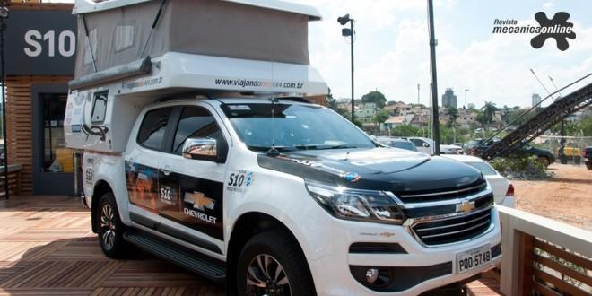 Nova S10 parte do Salão do Automóvel de SP para expedição de 70 mil km rumo à China