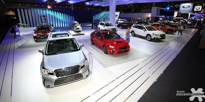 SUBARU revela os novos Forester, Outback e XV no Salão do Automóvel 2016