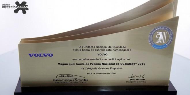 Volvo do Brasil ganha o Prêmio Nacional da Qualidade (PNQ) pela quarta vez