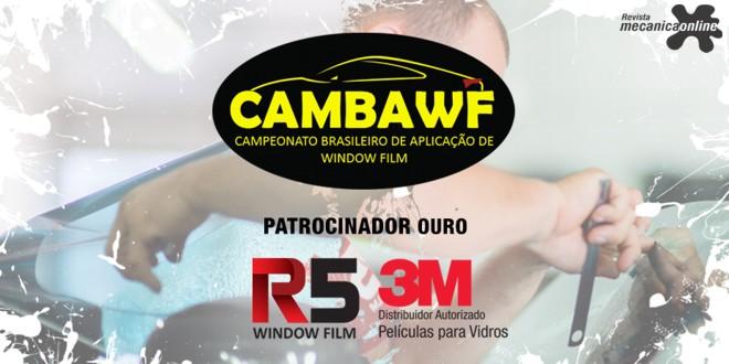 3M patrocina 2ª edição do Campeonato Brasileiro de Aplicação de Window Film