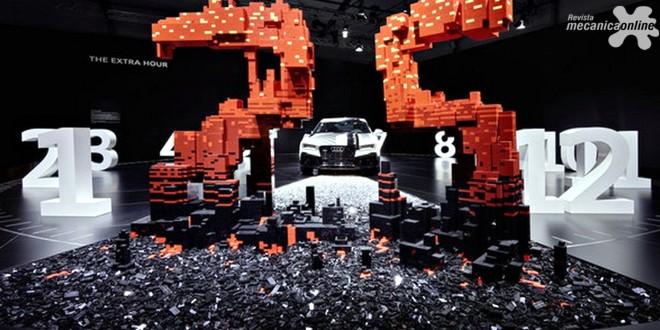"""Audi e o Grupo LEGO® apresentam a instalação """"The extra hour"""" no Design Miami/"""