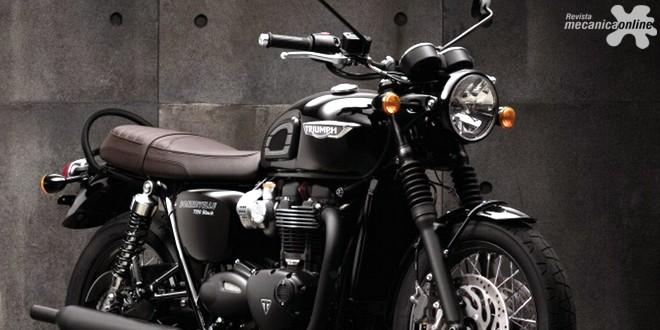 Triumph lança nova Bonneville T120 Black no mercado brasileiro