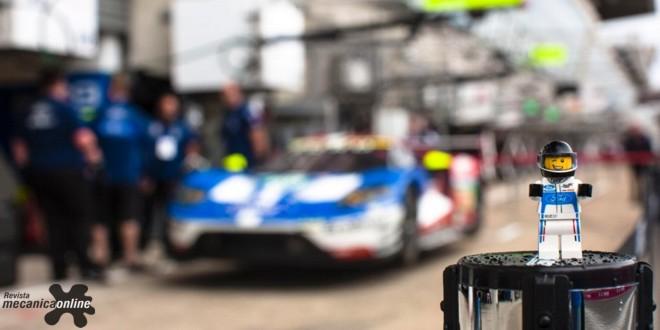 Ford GT40 e novo GT, históricos campeões de Le Mans, são imortalizados em coleção da lego