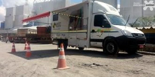 Iveco Daily se transforma em sala de aula para motoristas de todo o Brasil