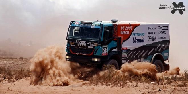 Dakar 2017: FPT Industrial patrocina equipe Iveco Petronas De Rooy, vencedora em 2016, com motores de alta potência