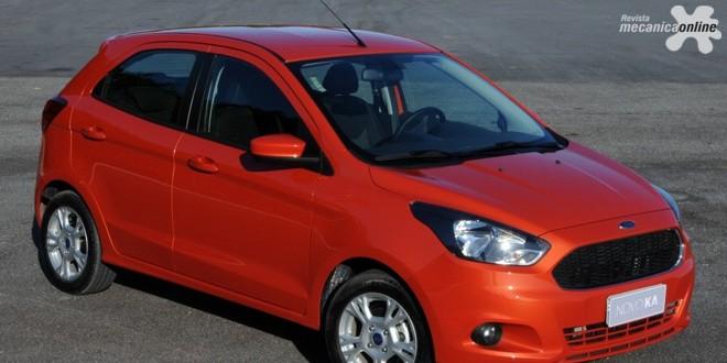 Ford tem o compacto Ka com participação recorde entre outros destaques de sua linha em novembro