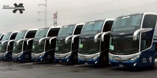 Novos ônibus MAN começam a operar no México