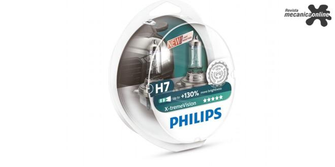 Nova lâmpada automotiva Philips X-tremeVision+ oferece 130% mais luminosidade e 45 metros a mais de visibilidade