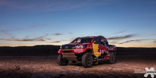 Toyota volta ao desafio do Rally Dakar