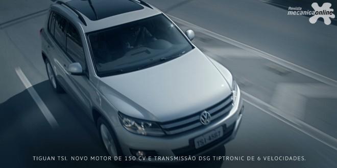 Volkswagen Tiguan protagoniza o segundo filme da campanha sobre a linha TSI