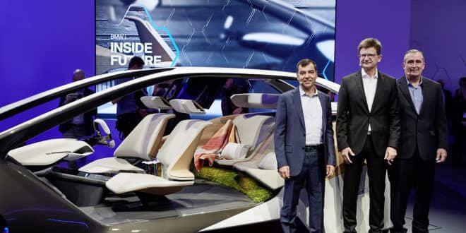 BMW apresenta novidades no Consumer Electronics Show (CES) 2017 em Las Vegas