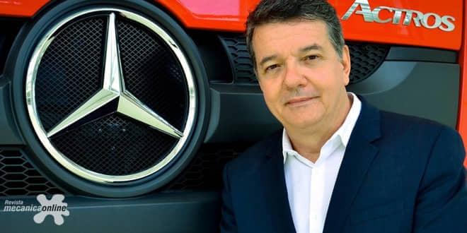 Mercedes-Benz aumentou as vendas do Actros rodoviário no mercado brasileiro em 145%