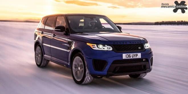 Range Rover Sport SVR realiza testes de aceleração em diversos tipos de terreno