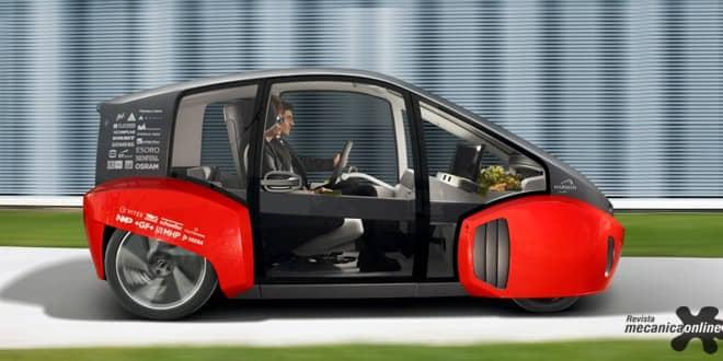 """ZF apresenta plataforma veicular com integração de rede para o Rinspeed """"Oasis"""", veículo conceito elétrico"""