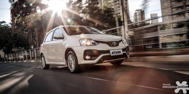 Toyota Etios 2018 chega com novo design
