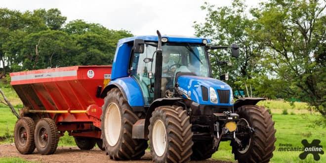 Trator movido a biometano será destaque no estande da Itaipu no Show Rural 2017