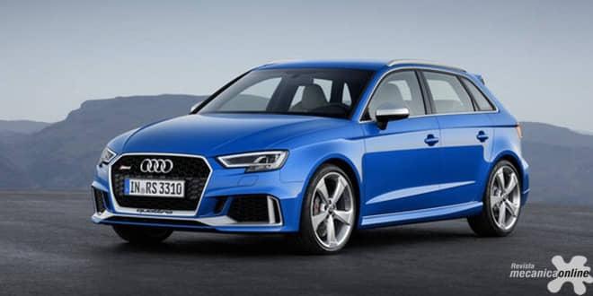 Novo motor e um visual ainda mais agressivo: Audi RS 3 Sportback recebe atualização