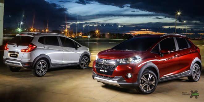 Versatilidade e espaço interno são destaques no WR-V, o novo SUV compacto da Honda