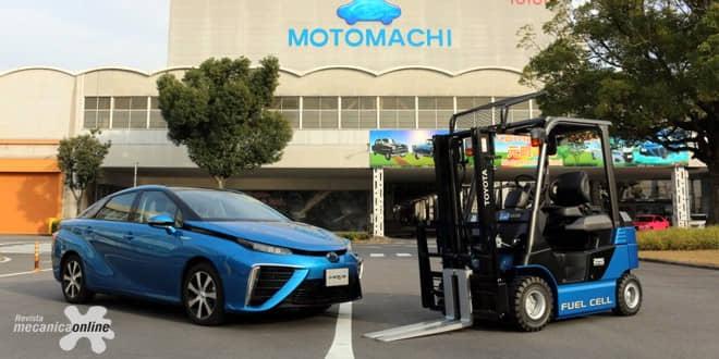 Toyota utilizará empilhadeiras movidas à célula de combustível em sua fábrica no Japão