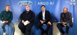 Ford anuncia investimento na Argo AI, nova empresa de inteligência artificial, para o desenvolvimento de carros autônomos