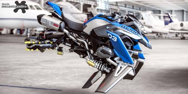 BMW Motorrad e LEGO® Technic apresentam o inovador Hover Ride Design Concept