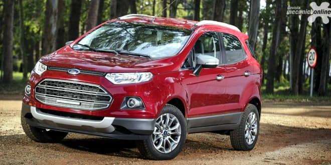 Ford anuncia toda a linha EcoSport com taxa zero em 36 meses