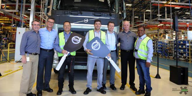 Pernambuco e paulista ganham caminhão em promoção realizada pela Volvo
