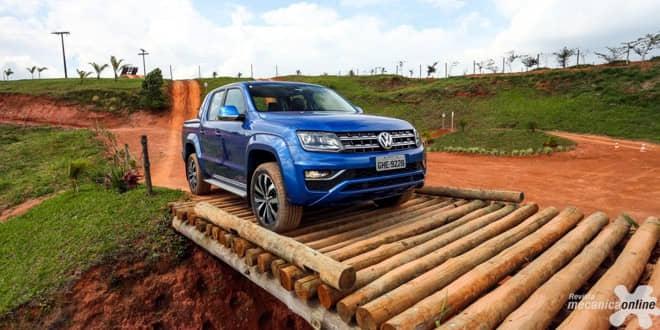 Volkswagen Nova Amarok é destaque na Expodireto Cotrijal, no Rio Grande do Sul