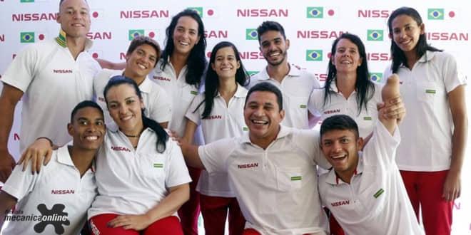 Nissan apresenta o Time Nissan 2.0, grupo formado por atletas de diferentes modalidades